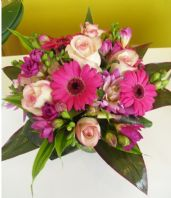 Cerise Bridal Bouquet